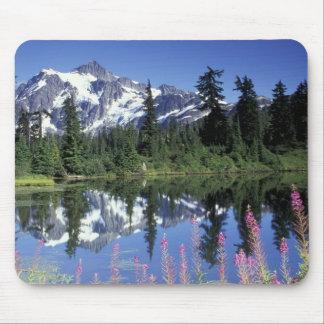 North America, USA, Washington, Heather Meadows Mouse Pad