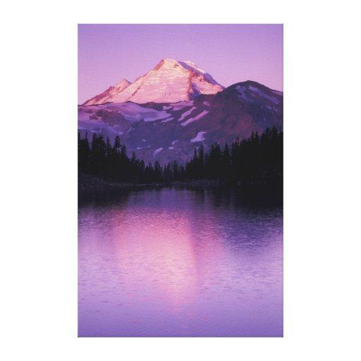 North America, USA, Washington, Mount Baker Canvas Print