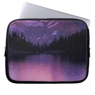 North America, USA, Washington, Mount Baker Computer Sleeve