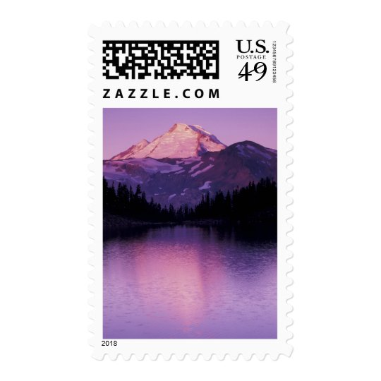North America, USA, Washington, Mount Baker Postage