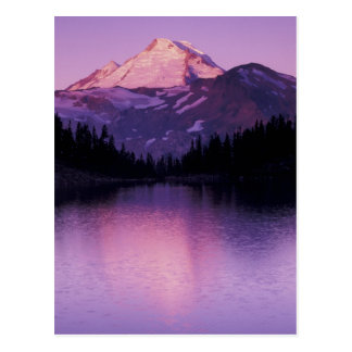 North America, USA, Washington, Mount Baker Postcard