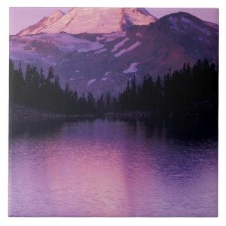 North America, USA, Washington, Mount Baker Tile