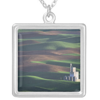 North America, USA, Washington, Palouse. The Square Pendant Necklace