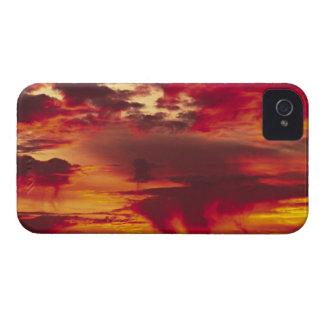North America, USA, Washington, Seattle. Sunrise iPhone 4 Case