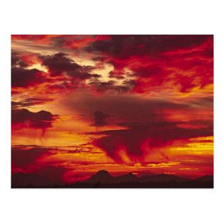 North America, USA, Washington, Seattle. Sunrise Postcard