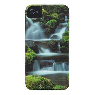 North America; USA; Washington, Sol Duc Cascade iPhone 4 Case
