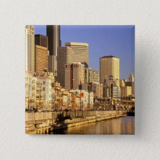 North America, USA, Washington State, Seattle. 4 Button