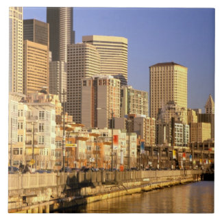 North America, USA, Washington State, Seattle. 4 Tile