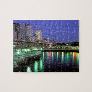 North America, USA, Washington State, Seattle. 6 Puzzle