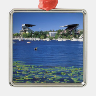 North America, USA, Washington State, Seattle, Metal Ornament