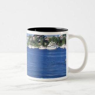 North America, USA, Washington State, Seattle, Two-Tone Coffee Mug