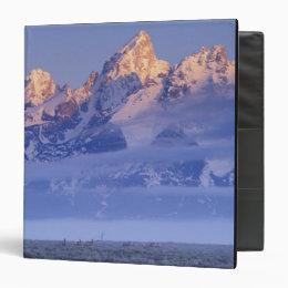 North America, USA, Wyoming, Grand Teton NP, 2 3 Ring Binder