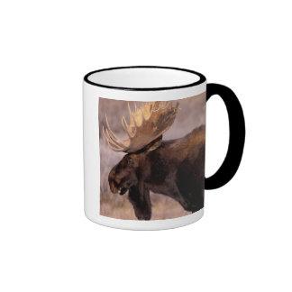 North America, USA, Wyoming, Grand Teton NP, Ringer Coffee Mug