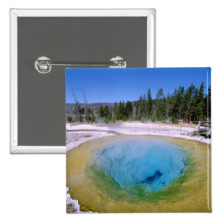 North America, USA, Wyoming, Yellowstone 2 Button