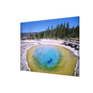 North America, USA, Wyoming, Yellowstone 2 Canvas Print