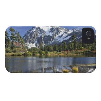 North America, Washington, Cascades. Mt. Shuksan Case-Mate iPhone 4 Cases