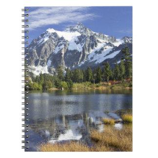 North America, Washington, Cascades. Mt. Shuksan Notebook