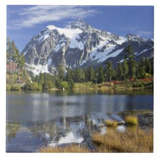North America, Washington, Cascades. Mt. Shuksan Ceramic Tiles