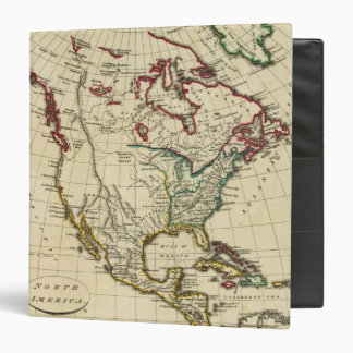 North America with boundaries outlined Binder