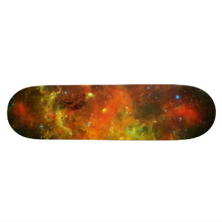 North American and Pelican Nebulae Skateboard