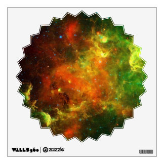 North American and Pelican Nebulae Wall Sticker