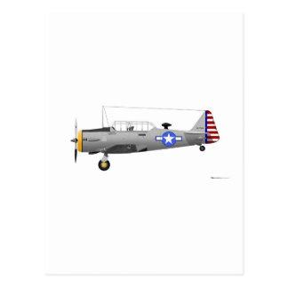 North American AT-6D Texan Postcard