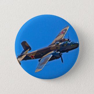 North American B-25 Mitchel Button