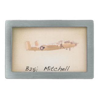 North American B 25 Mitchell Belt Buckles