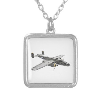 North American B-25 Mitchell bomber Necklace