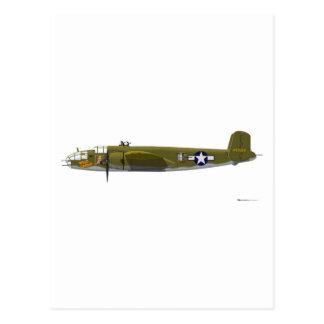 North American B-25J Mitchell Postcard