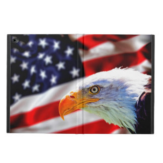 North American Bald Eagle on American flag Powis iPad Air 2 Case