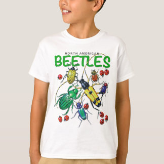 North American Beetles T-shirt