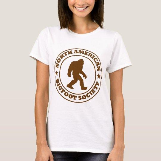 NORTH AMERICAN BIGFOOT SOCIETY - Pro's Brown Logo T-Shirt