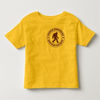 NORTH AMERICAN BIGFOOT SOCIETY - Pro's Brown Logo Toddler T-shirt