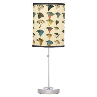North American Birds Table Lamps