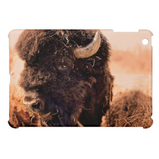 North American Bison Bull iPad Mini Cover