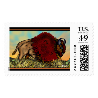 North American Bison Stamps