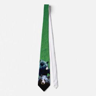 North American Black Bear Tie