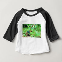 North American Box Turtle Baby T-Shirt
