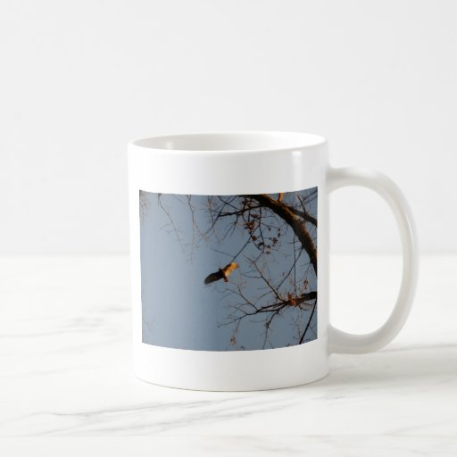North American Buzzard coming home to roost Coffee Mug