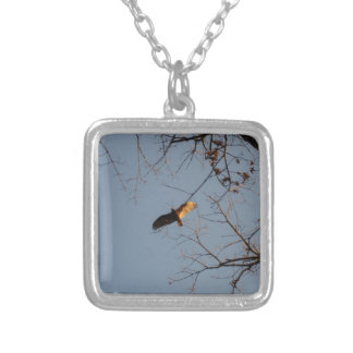 North American Buzzard coming home to roost Necklace