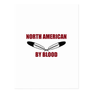 North American By Blood Postcards