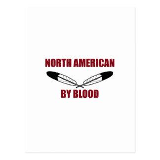 North American By Blood Postcard