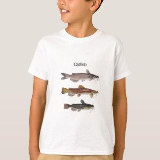 North American Catfish Logo T-Shirt