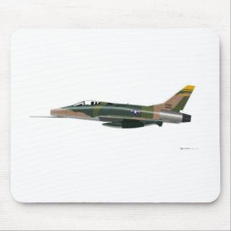 North American F-100 Super Sabre Mouse Pad