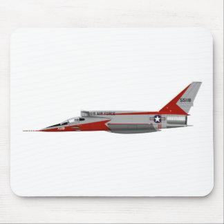 North American F-107A Super Sabre 55118 Mouse Pad