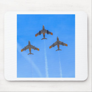 North American F-86 Sabre Mouse Pad