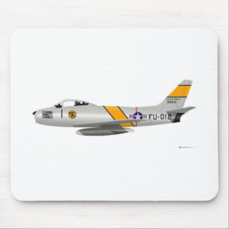 North American F-86A Sabre Mouse Pad