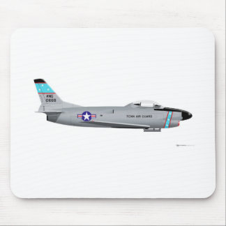 North American F-86L Sabre 0668 Mouse Pad