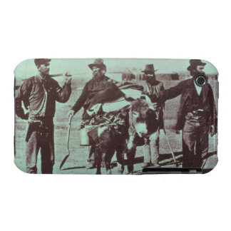 North American gold diggers, c.1849 (b/w photo) iPhone 3 Case